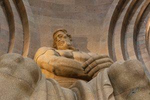 Leipzig - Völkerschlachtdenkmal - Skulptur Ruhmeshalle - Mario Kegel - photok