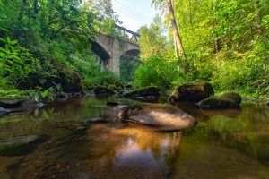 Im Gottleubatal - Alte Eisenbahnbrücke bei Langhennersdorf - Mario Kegel - photokDE