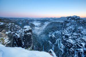 am hoellenhund - saechsische schweiz im winter - mario kegel - photok